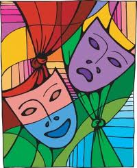 theater-masks-colorful-square